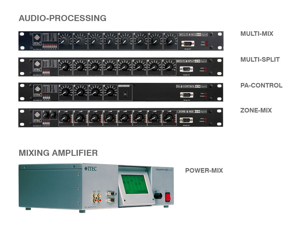 Audio-Processing, MIxing-Amplifier